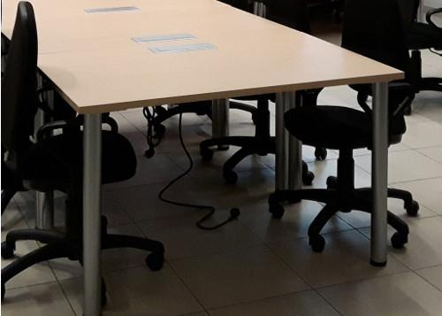 Aranżacja Biurko dual IV - Wynajem mebli biurowych