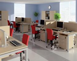 Biurko Slim - Wynajem mebli biurowych