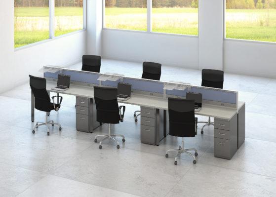 Aranżacja 5 - Wynajem mebli biurowych