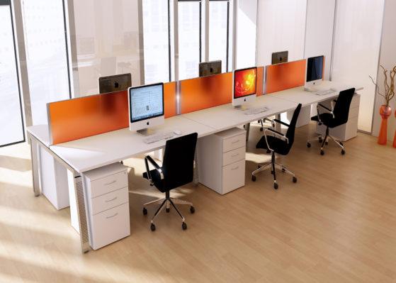 Aranżacja 3 - Wynajem mebli biurowych