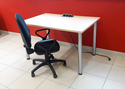 Aranżacja Biurko dual II - Wynajem mebli biurowych