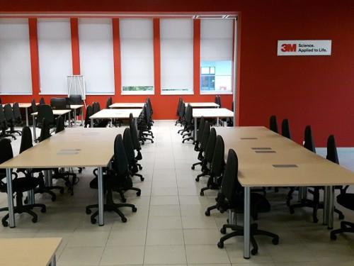 Aranżacja krzesła basic - Wynajem mebli biurowych
